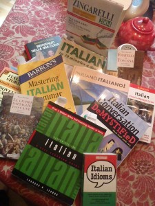 Books I recommend for studying Italian