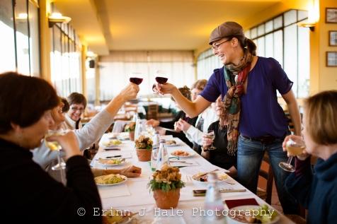 cibo vino buona compagnia