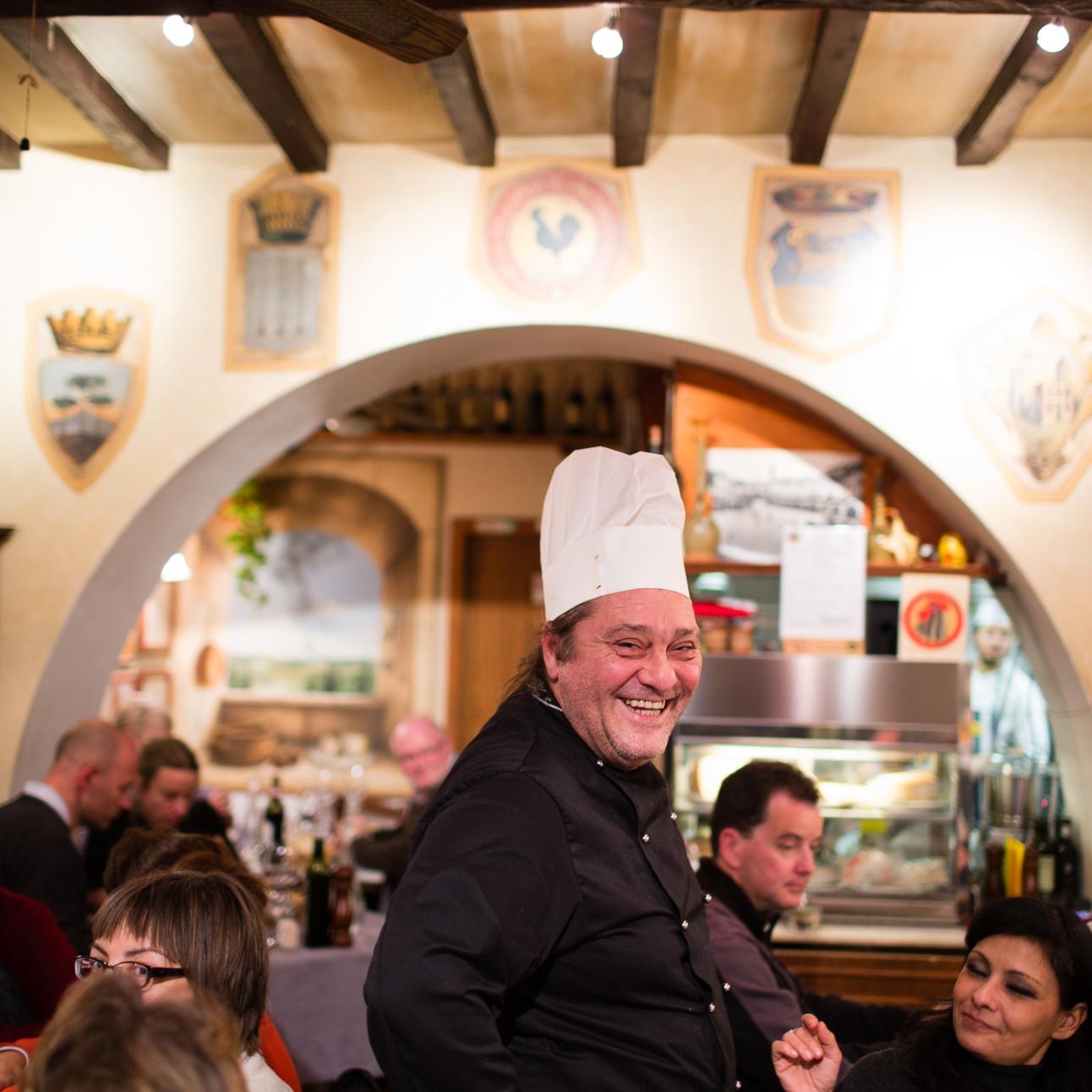 Chef Toscano Mangiando Mangiando
